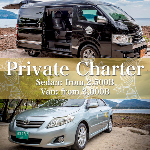 Premium Private Charer Service in Phuket